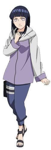 Hanabi Hyuga Cartoon Family